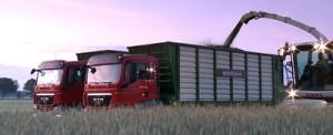 agro trucks silage hybrid rye