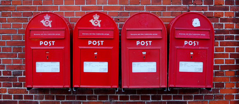 picture of post boxes
