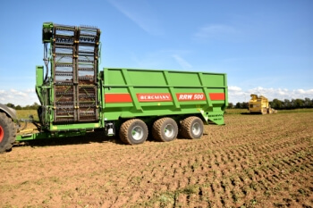 Sugar beet chaser RRW500 from Bergmann