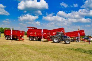 krampe grain chaser and bin trucks