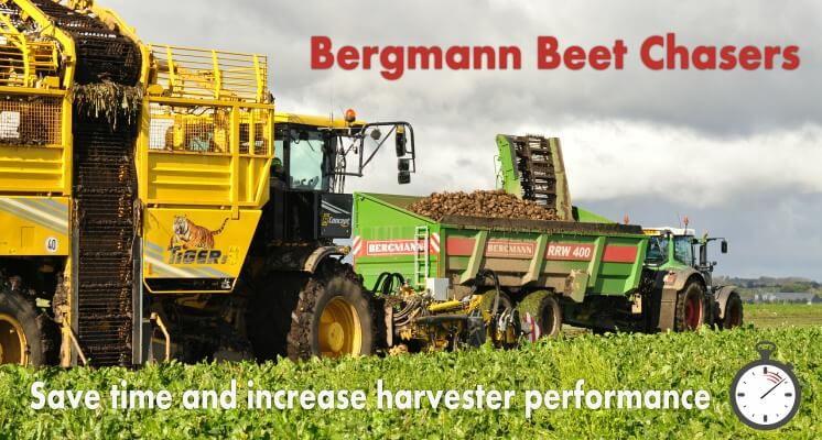 Beet Chasers bergmann with ropa harvester
