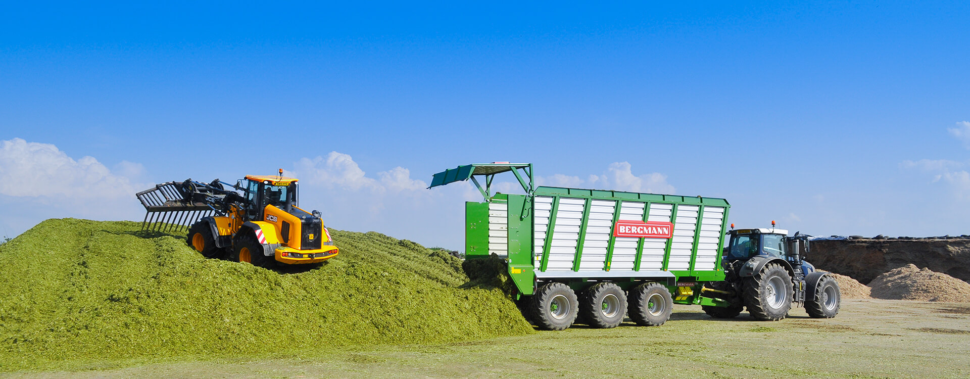 Moving Floor Silage trailer
