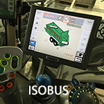 ISOBUS control Bergmann spreaders