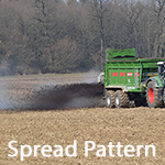 spinning disc spreader precision spread pattern