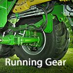 running gear Bergmann spreaders