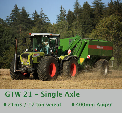 link more information featuring Grain Chaser Bergmann Claas Xerion