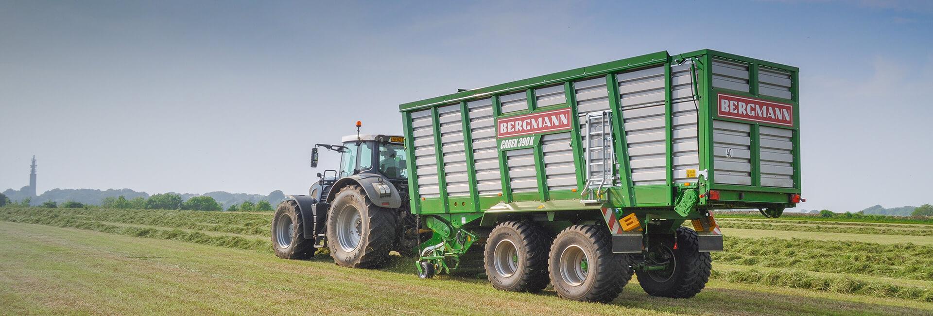 Bergmann Silage Wagon