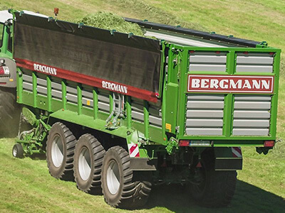 Large Forage Wagon Bergmann Shuttle Link for further details