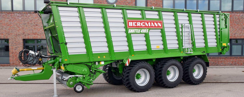 Bergmann Shuttle Silage loader Wagon