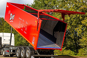 krampe walking floor tipper trailer
