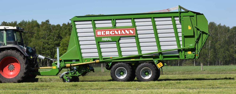 bergmann royal silage loader wagon grass harvest silage