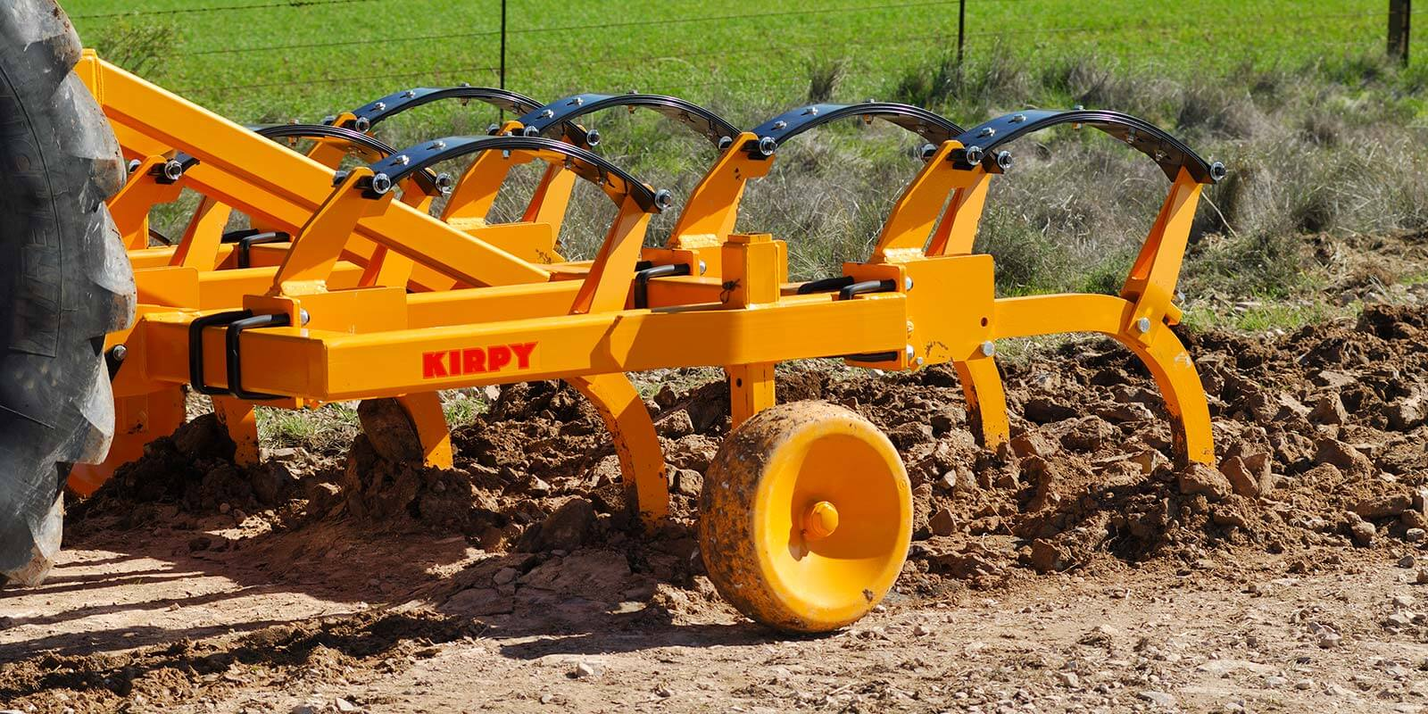 Kirpy Ripper heavy duty cultivator and road ripper