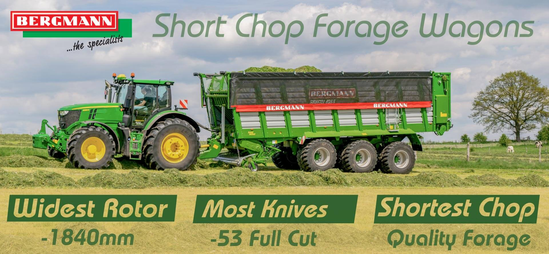 Short chop forage wagons producing quality silage