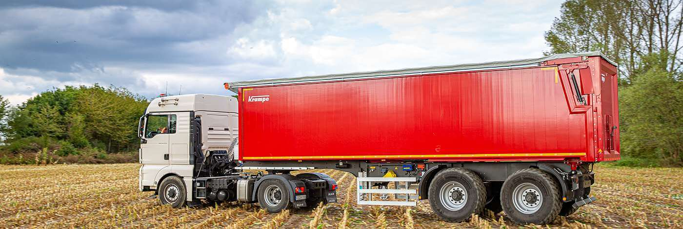 Krampe Semi trailer Tipper and Walking Floor