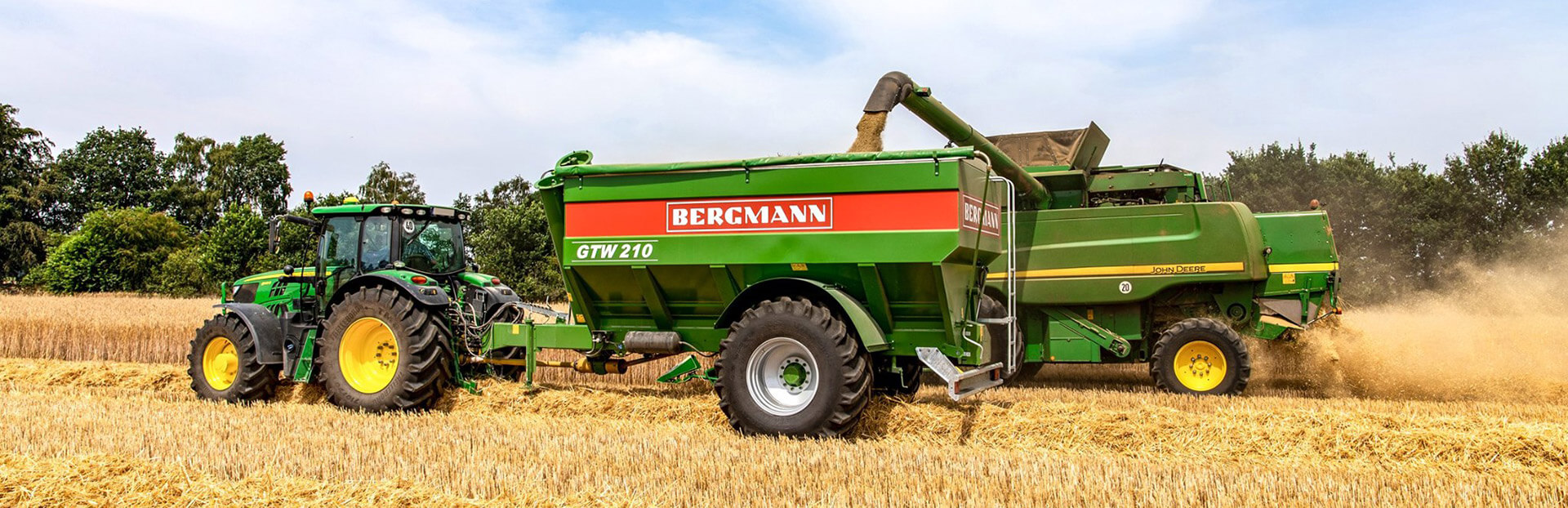 Bergmann grain chaser updated range harvest