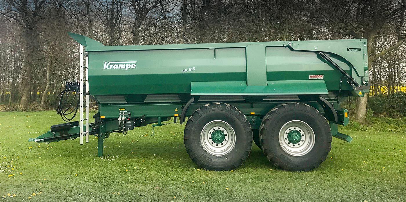 Krampe Dump trailer Sk550
