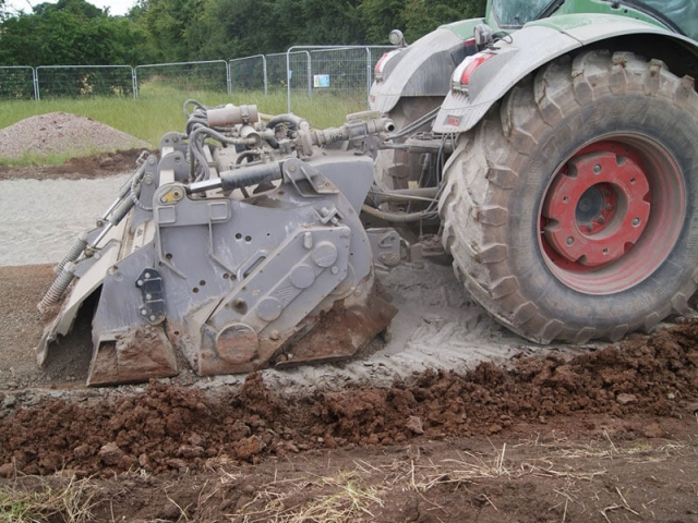 FAE Soil Stabilisation with cement