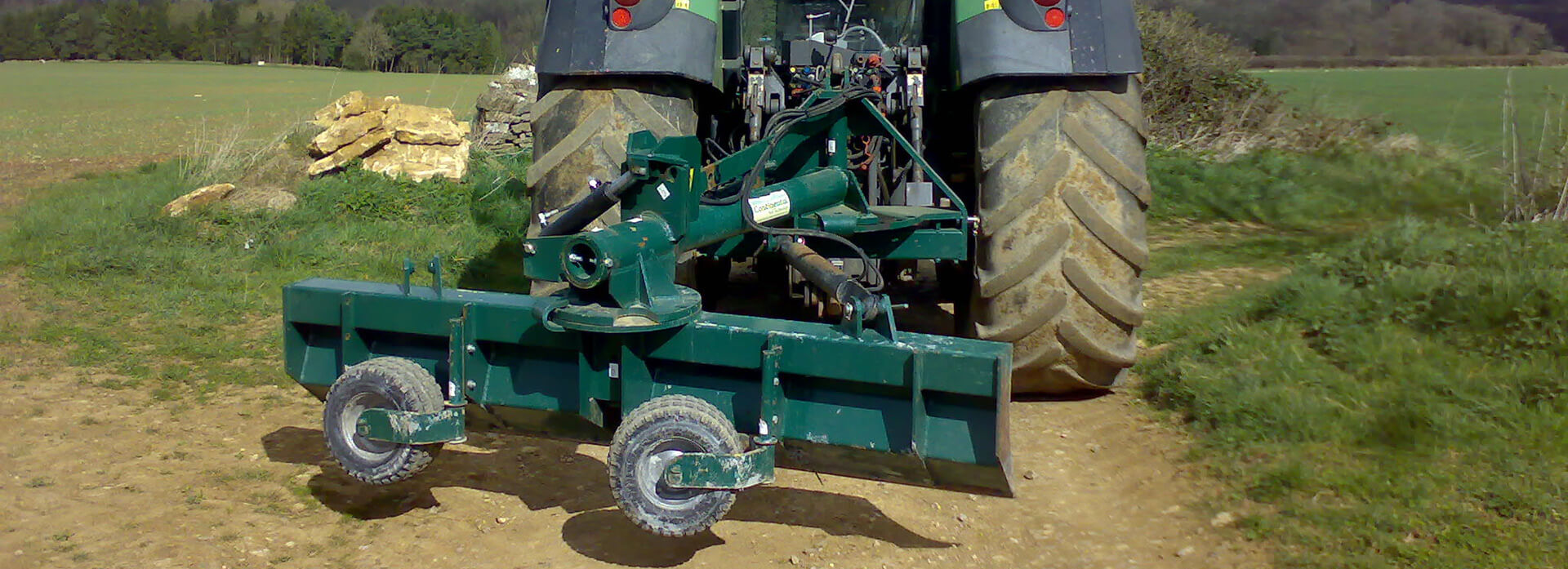 Tractor Mounted Grader Blade