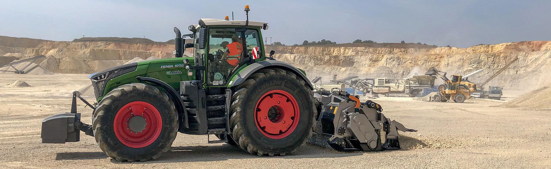 FAE Stabiliser at work inn a quarry