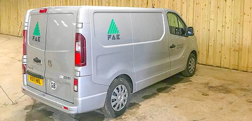 FAE Service van