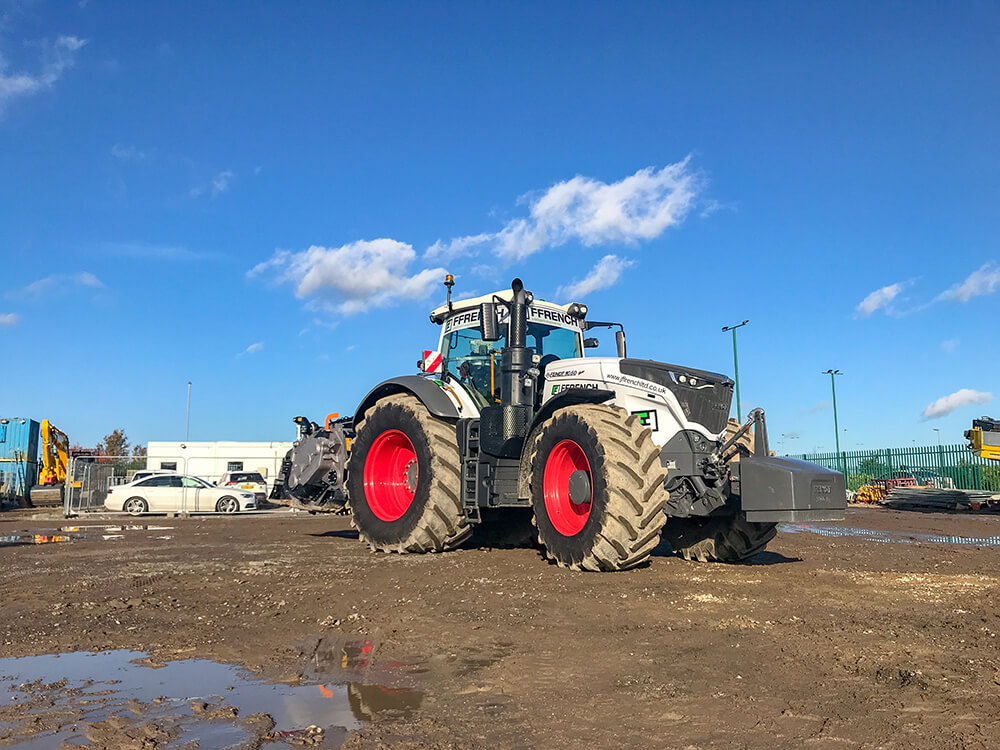 FAE Crusher with Fendt 1050
