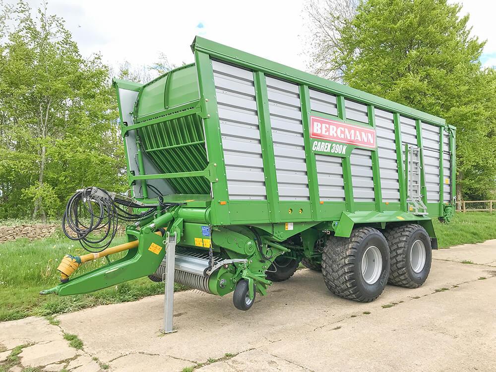 Used forage wagon